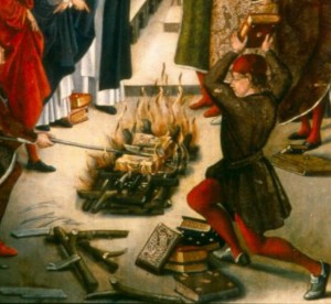 Burning of the Red Heifer - The Burning of the Talmud - The Tragedy  in Nice France